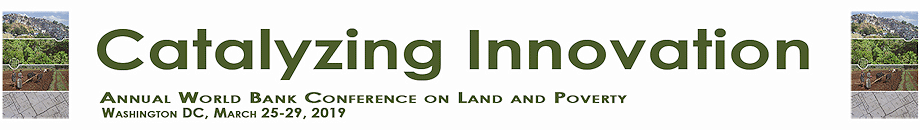 Logo 20th Land and Poverty Conference